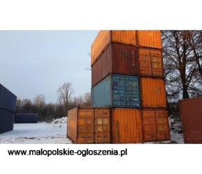 Kontener 20DV 100% szczelny  używany morski budowlany